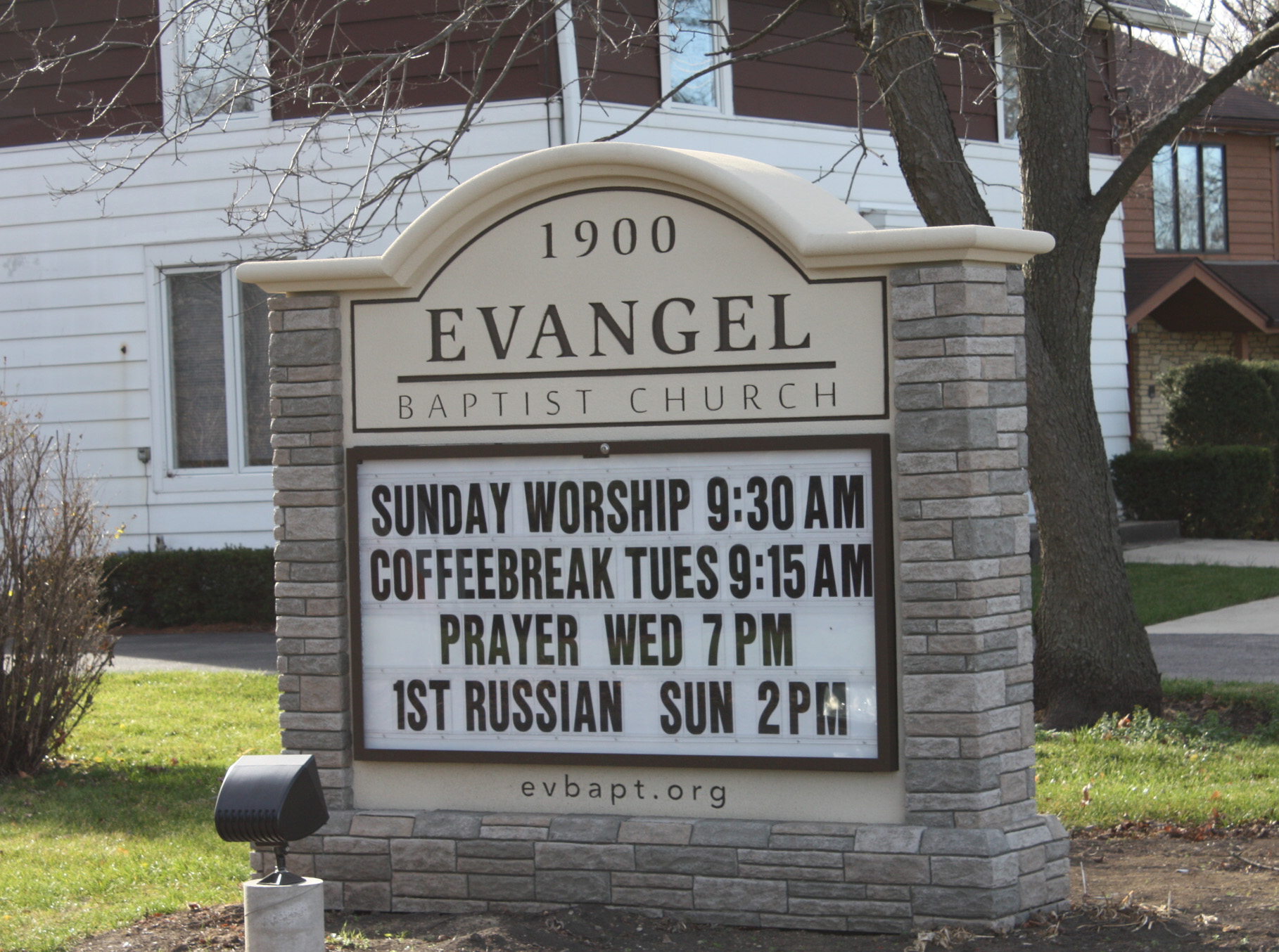 See what time worship starts for this church. QUESTION: Do they really wait 48 hours until their first coffee break?