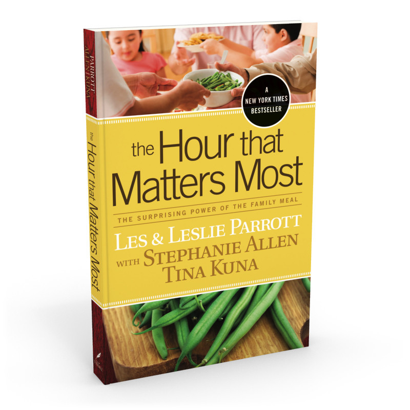 Drs. Les & Leslie Parrott have a lot of great resources on time-based conversations, including this book on dinner time