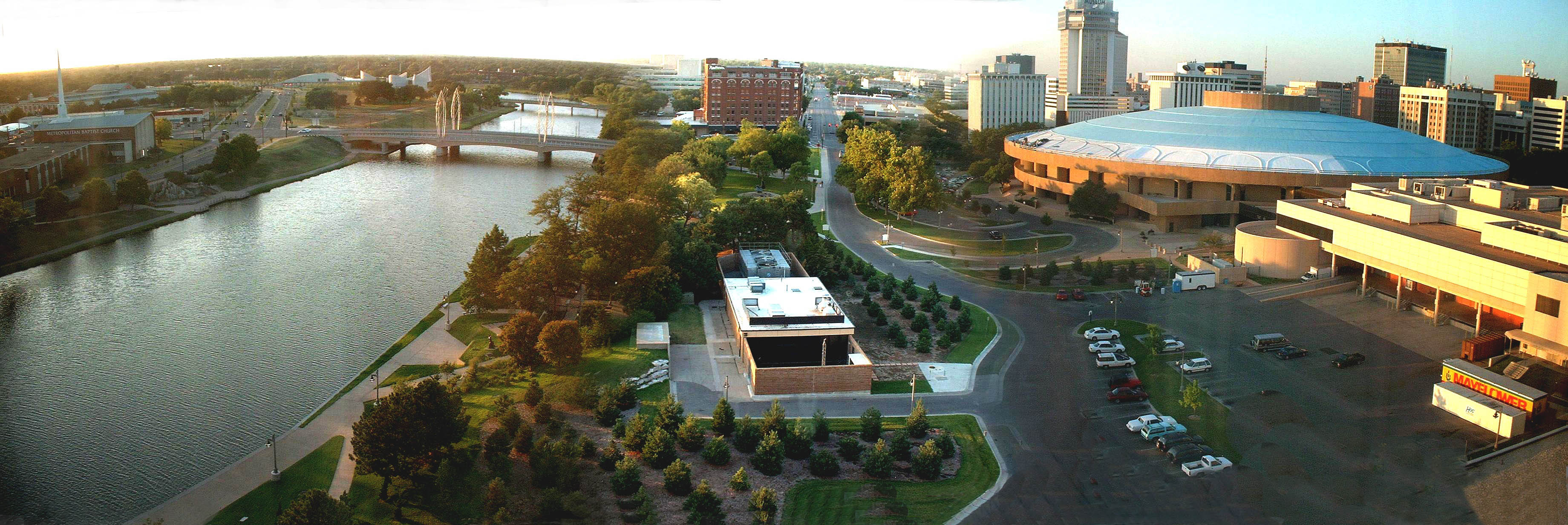 Wichita sits on a river, was a crossroads on cattle drives, hosts rich cultural opportunities and is the home to many successful entrepreneurs