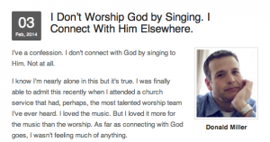 How to Worship When You Don't Feel Like It