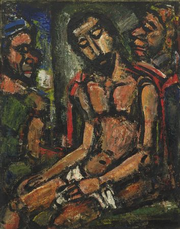 Jesus was mocked in many ways (Georges Rouault)