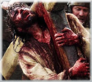 He was crushed for our iniquities (IMAGE: Passion of the Christ)