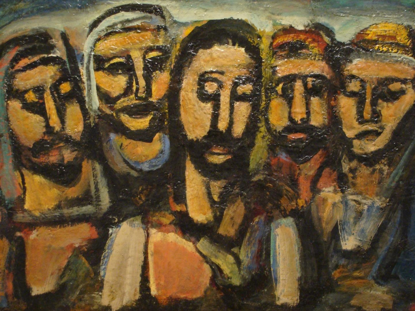 Even the disciples at the Last Supper misunderstood Jesus' mission. Image: George Rouault
